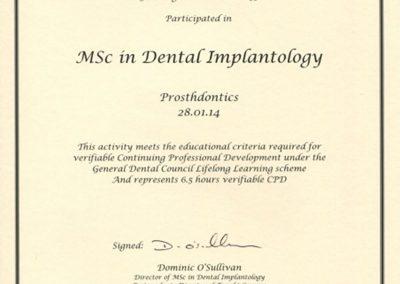Prosthdontics