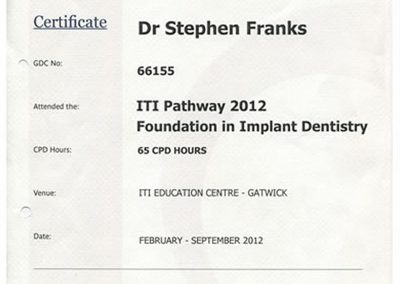 ITI Foundation in Implant Dentistry