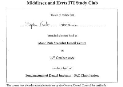 ITI Dental Implants