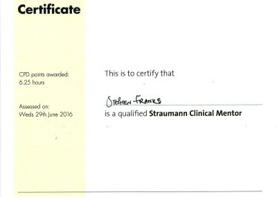 Straumann Clinical Mentor