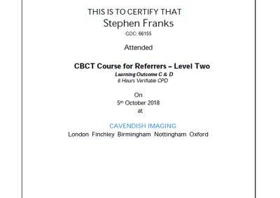 Cavendish Imaging CBCT Course