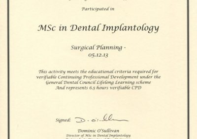 Surgical Planning Dec 2013