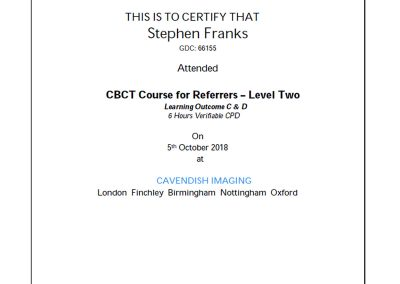 Cavendish Imaging CBCT Course